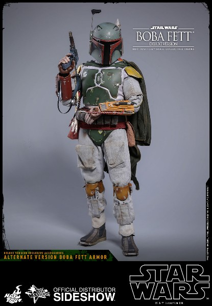 Preorder Hot Toys Star Wars Deluxe Boba Fett Sixth Scale Figure