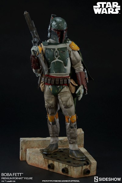 Sideshow Star Wars Return of the Jedi Boba Fett Premium Format