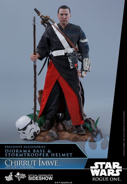 Preorder Hot Toys Star Wars Rogue One Chirrut Imwe Deluxe Figure