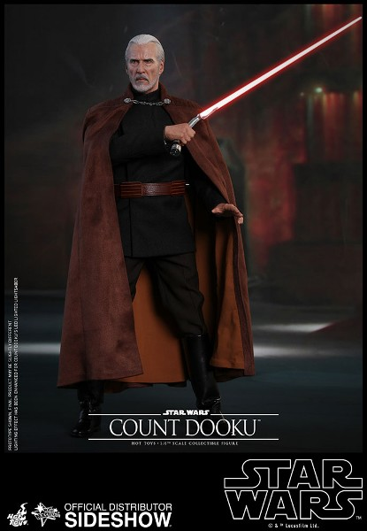 Preorder Hot Toys Star Wars Count Dooku Sixth Scale Figure