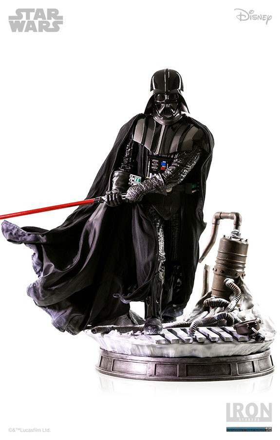 Iron Studios Star Wars Empire Strikes Back Darth Vader Statue