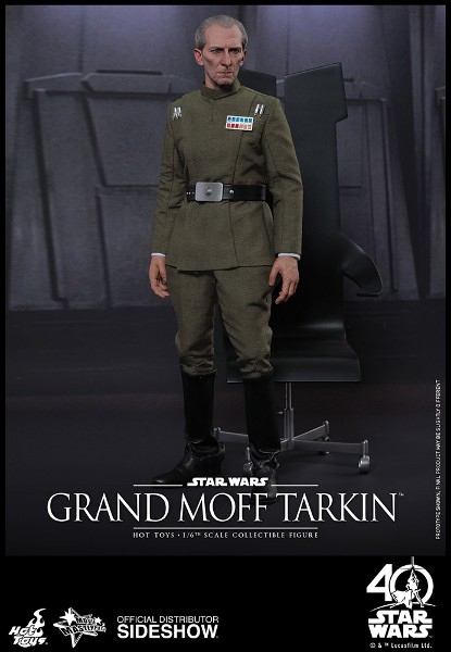 Preorder Hot Toys Star Wars Grand Moff Tarkin Sixth Scale Figure