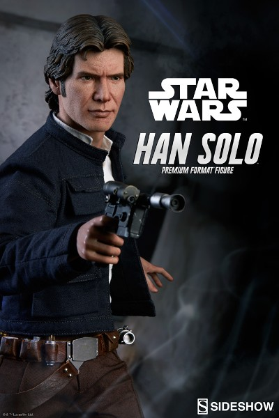 Preorder Sideshow Star Wars Empire Strikes Back Han Solo Premium