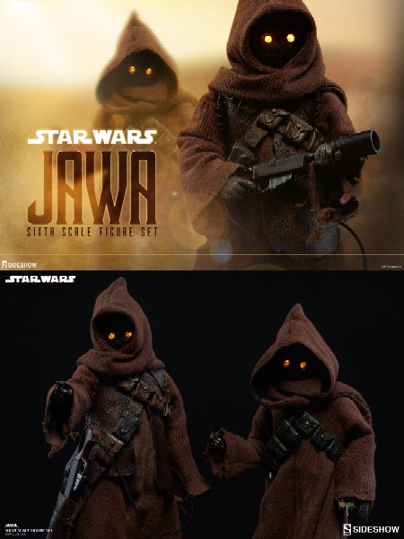 Sideshow Collectibles Star Wars Jawas Sixth Scale Figure Set