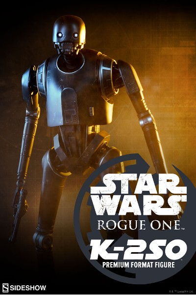 Preorder Sideshow Star Wars Rogue One K-2SO Premium Format