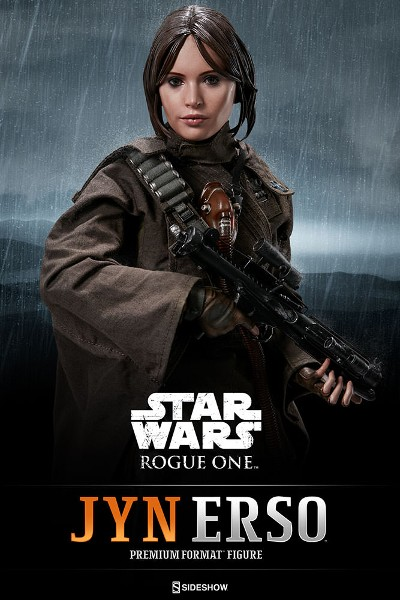 Sideshow Star Wars Rogue One Jyn Erso Premium Format Figure
