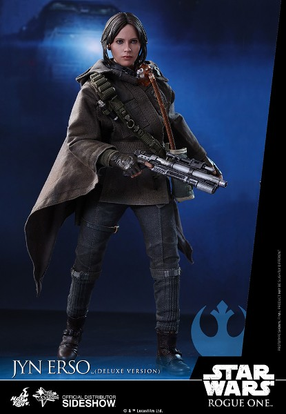 Hot Toys Star Wars Rogue One Jyn Erso Sixth Scale Deluxe Figure
