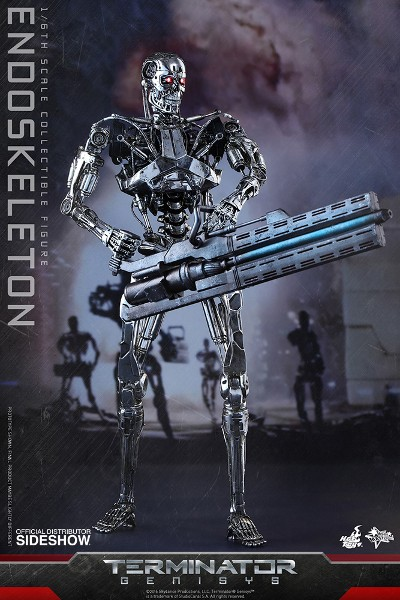 Hot Toys Terminator Genisys Endoskeleton Sixth Scale Figure