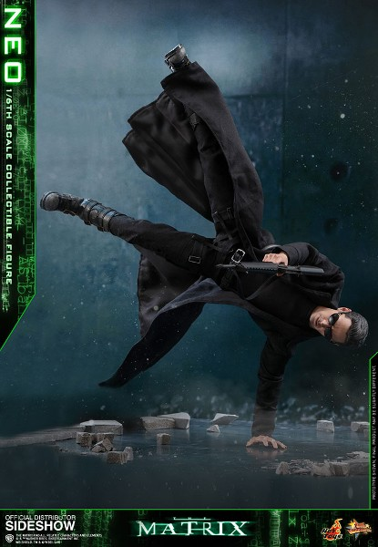 Preorder Hot Toys The Matrix Neo Sixth Scale Collectible Figure