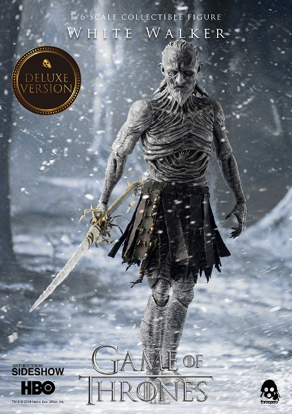 Preorder Threezero Game of Thrones White Walker Deluxe Figure